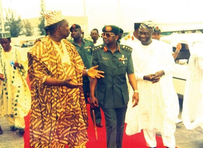 Sani Abacha and MKO Abiola