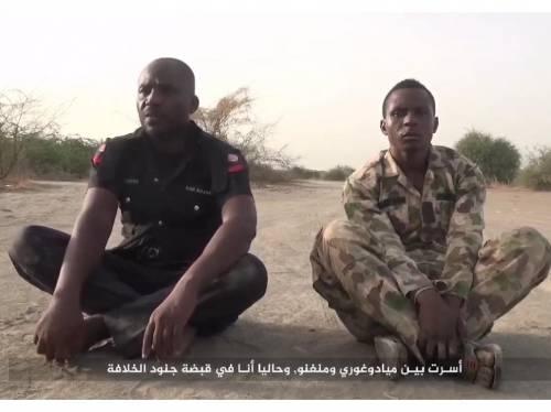 Video Boko Haram kills Soldier and policeman