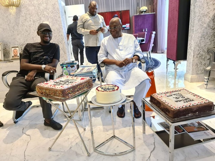 Photos and Videos As Atiku Celebrates 74th Birthday At Dubai Villa