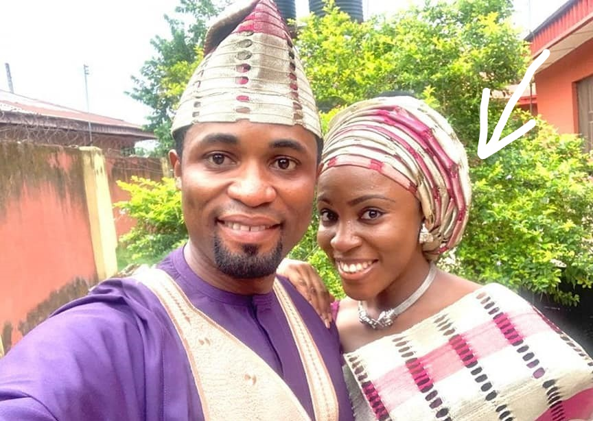 Osenaga Umobuarie and husband Michael Orokpo