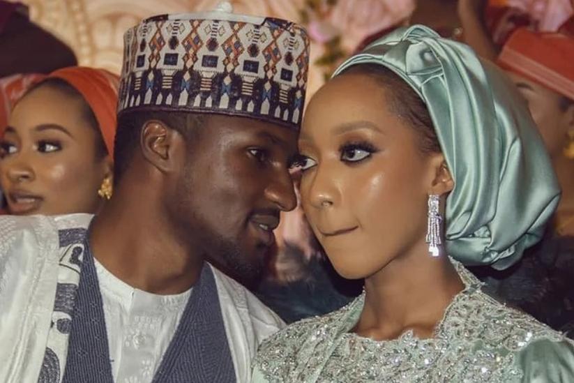 Wedding Pictures Yusuf Buhari and Zahra Bayero
